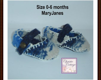 MaryJanes, Baby Shoe, Booties, Pattern, PDF, Infant, Newborn