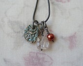 Fine Silver Charm Necklace