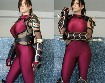 D-Jenn Halloween/Cosplay Soulcalibur Taki Costume Made to Order