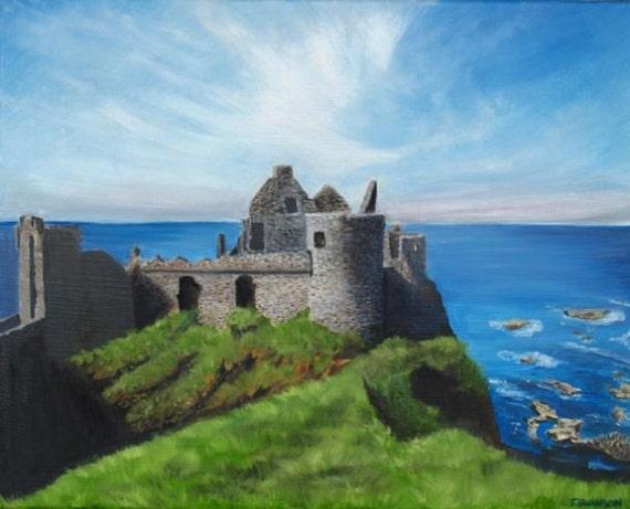 Dunluce Castle Oil Paintings