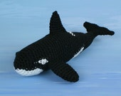 PDF Orca (Killer Whale) amigurumi CROCHET PATTERN