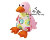 Penguin Plush Toy Pattern PDF INSTANT DOWNLOAD