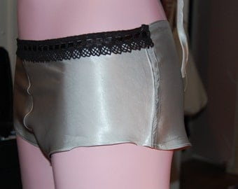 Silver French knickers
