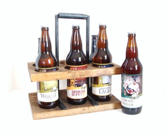 Beer Caddy 22 Oz Home Brew Beer Carrier Bomber Caddy Wine