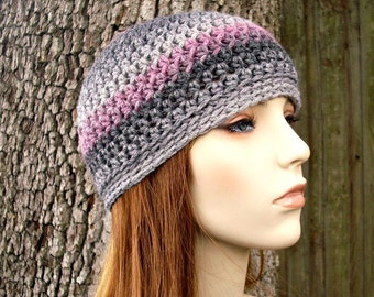 Instant Download Crochet Pattern - Skullcap Hat Pattern - Crochet Hat Pattern - Biloxi Skullcap Beanie Visor Womens Accessories