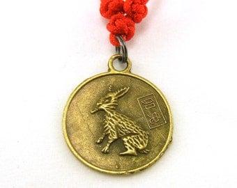 Chinese zodiac rabbit necklace