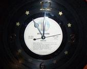 Vinyl Record Album Wall Clock - EAGLES - Recycled
