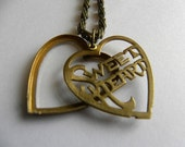 Vintage Sweetheart Locket Necklace