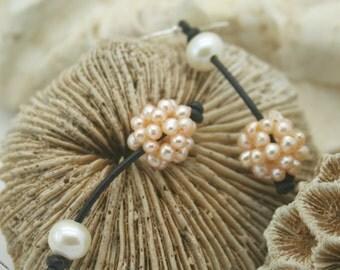 Snowball earring
