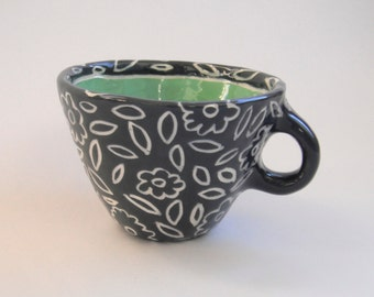 Tea leaf Mug- Made to order