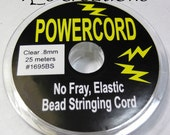 Powercord .8MM Clear Stretch Cording
