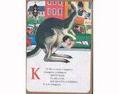 K is for Kangaroo Kraft Journal