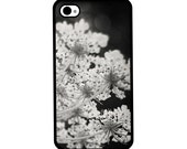 Phone Case - Queen Annes Lace - Hard Case for iPhone 4, 4s, 5, 5s, 5c, 6, 6 Plus - iPod Touch 4, 5 - Galaxy S3, S4, S5
