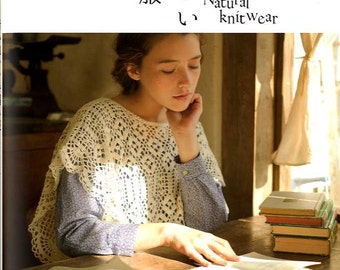 NATURAL KNIT WEAR - Japanese Craft Book