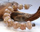 Jeanniesbeads Lampwork  Beads set 2535