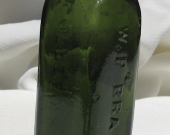 Antique Bottle (Green325)