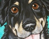 Custom Pet Portrait Painting 8x10