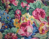 Vintage Piece of Upholsery or Drapery weight Fabric