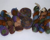 Yarn Clearance - Wool In The Woods (4) Feelin Fuzzy and (4) Harmony Yarn (8 skeins total)