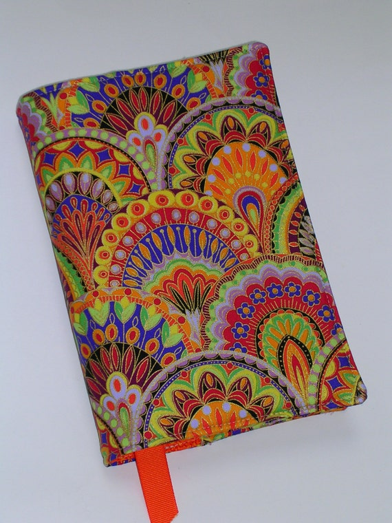 Fabric Book Covers For Paperbacks ~ Fabric book cover for trade size paperback by creativemoments