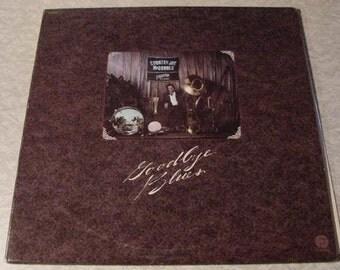 CLEARANCE Country Joe McDonald LP Goodbye Blues - Vintage vinyl record album 33 1/3 RPM // 1977 old music format