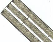 Vintage / Dresden Trim Borders / Stamped Gold Foil / Six Strips Per Sheet / Valentine's Day