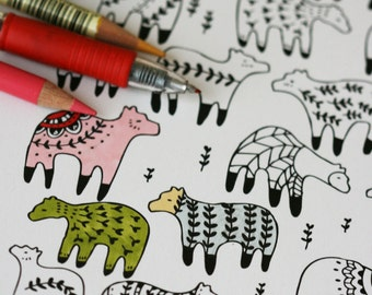 Colour In Collaboration No. 6 - Printable Colour In Pages