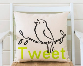 Tweet pillow