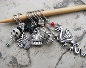 Game of Thrones Knitting or Crochet Non-Snag Stitch Markers