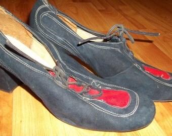 Vintage La Mancha By Don Manuel Two-Tone Shoes