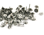 25pairs of Surgical Stainless Steel earring Posts and Butterfly Nuts