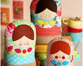 Matryoshka Dolls PDF Sewing Pattern Babushka Matrioshka Dolls Instant Download - retromama