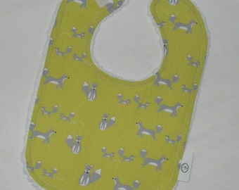 Organic Fox Hollow FoxesChenille Bib