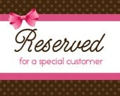 Reserved listing for Stephanie      10 pouches