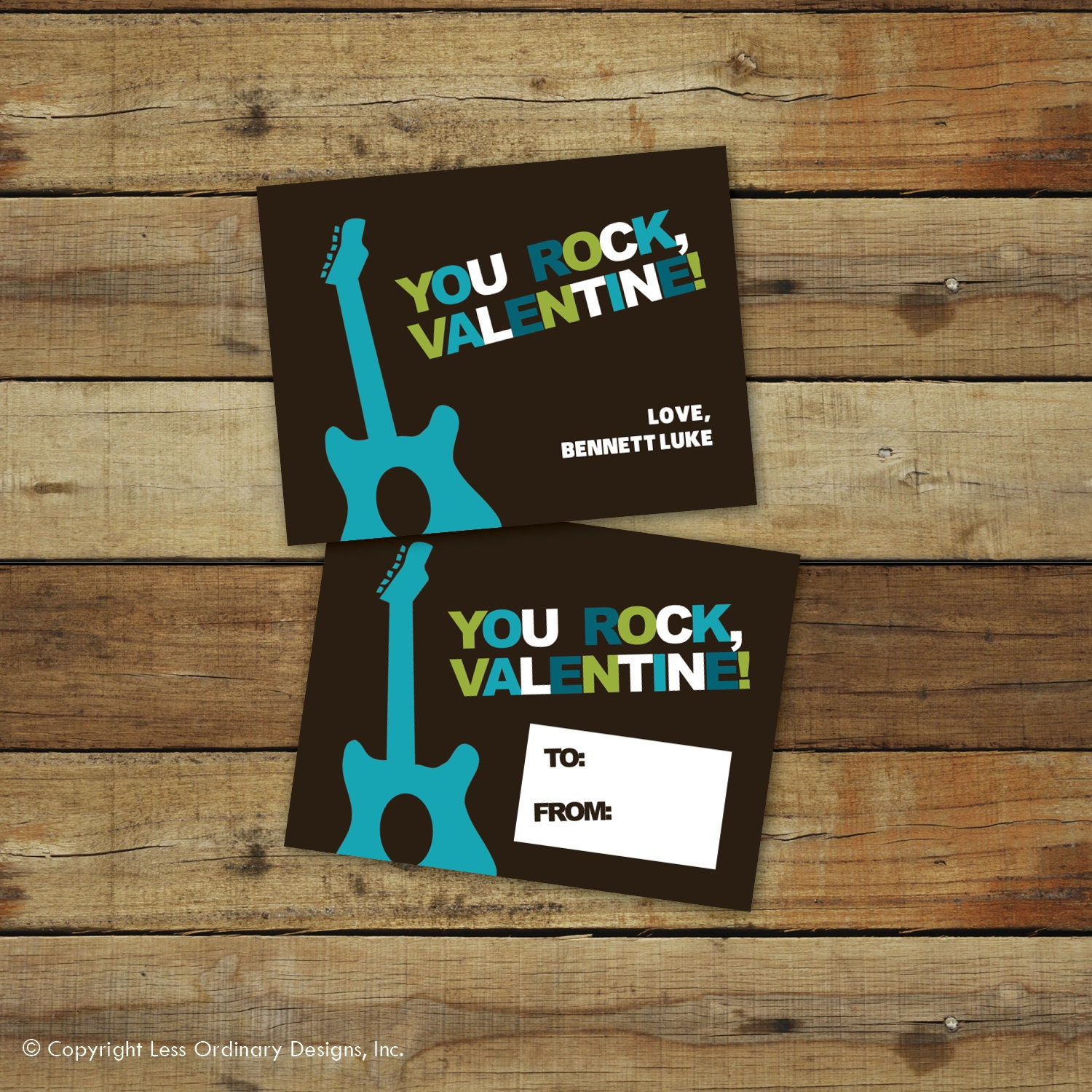 This is an image of Smart You Rock Valentine Printable