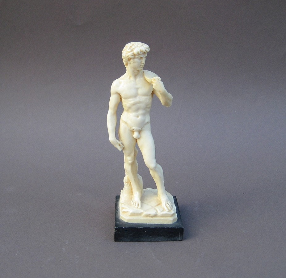 A Santini Classic Sculpture David Made In Italy