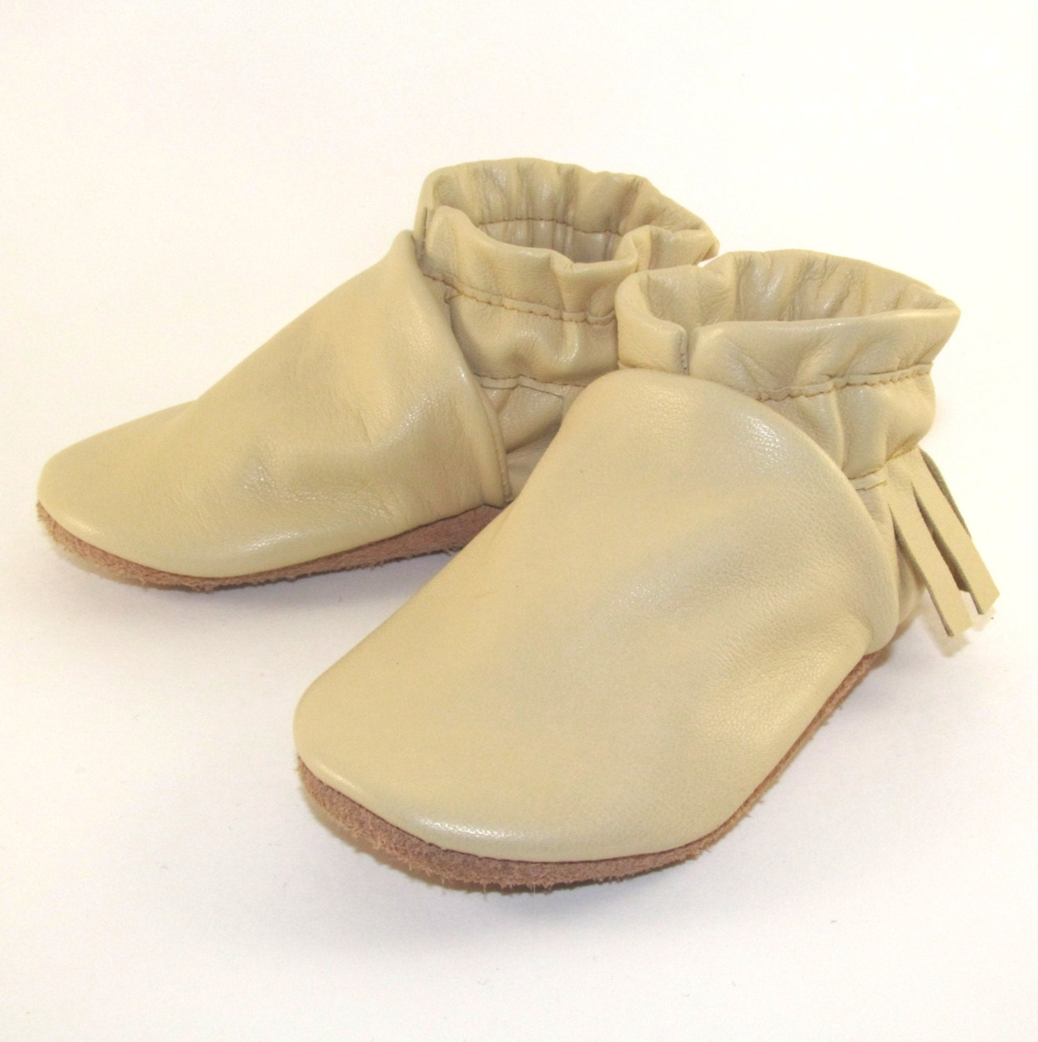 soft leather baby shoes moccasins eco friendly 12 to 18 month