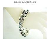 Beading Tutorial - Innuendo Metal Bead Bracelet Pattern