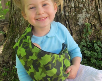 Camo Doll Sling - great for play with dolls and stuffed animals