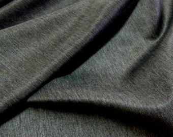 "Hemp Heavy Denim Fabric, Organic, Charcoal, 45"", Upholstery, Crafts, Home Decor"