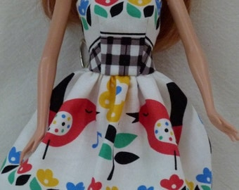 "Handmade 11.5"" Fashion Doll Dress is ready now"