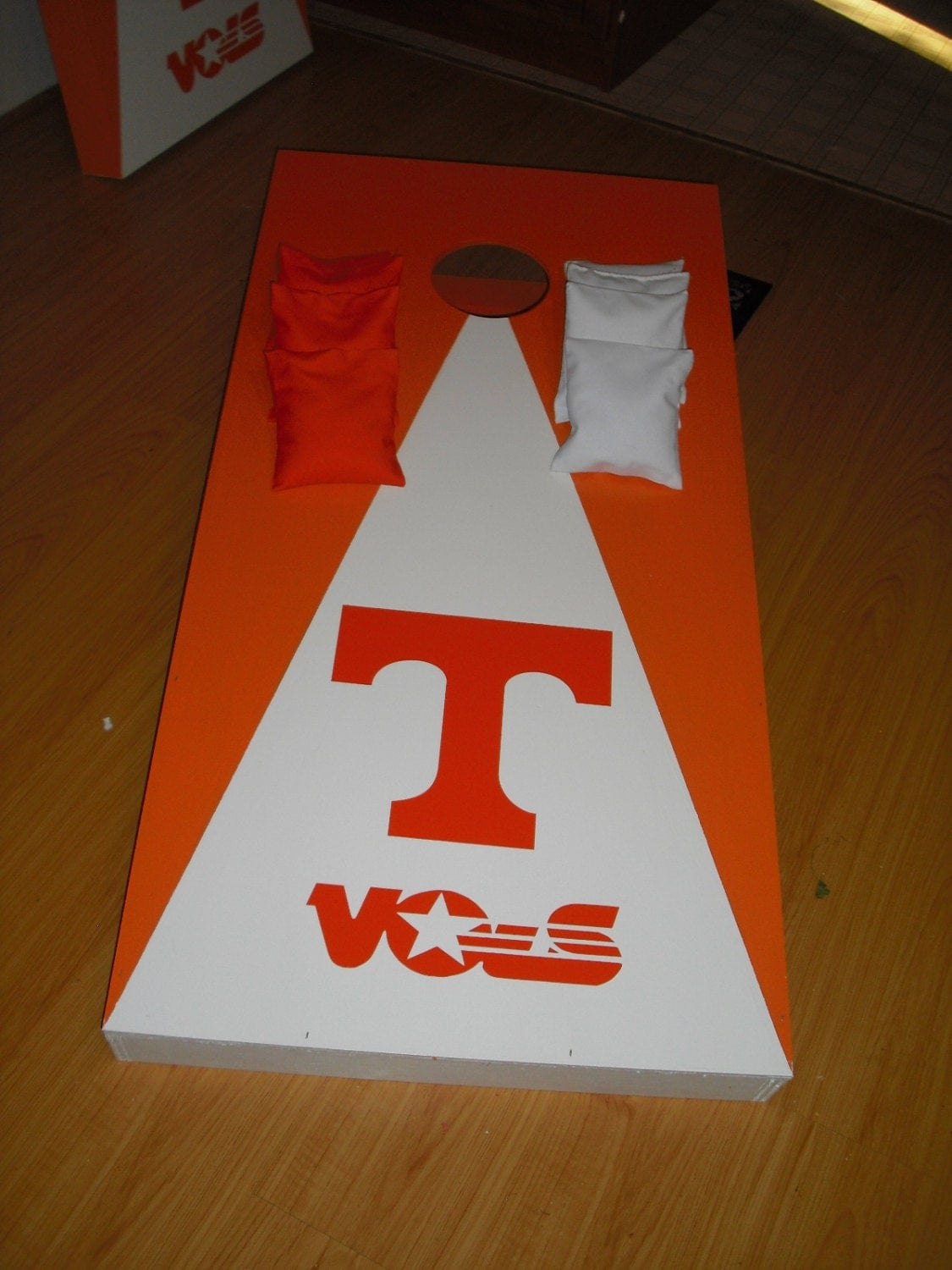 New Tennessee Vols Ut Cornhole Boards With 4 Bags Bean Bag