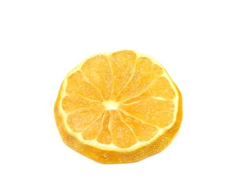 Lemon Pin, Fruit Jewelry, Fruit Pin