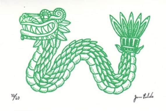 Quetzalcoatl, the winged serpent