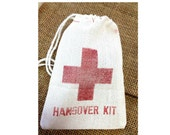 Hangover Kit Muslin Bags 3x5 perfect for DIY wedding favors 140 qty