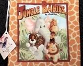 Jungle Babies Soft Cloth  Book