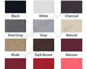 "Cotton Webbing - 10 Yards - 1.25"" Medium Heavy Weight for Key Fobs, Purse Straps, Belting - SEE COUPON"