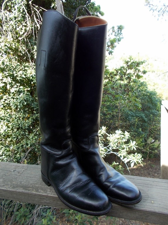 Marlborough English Riding Boots sz 6 B mens or Ladies 8.5