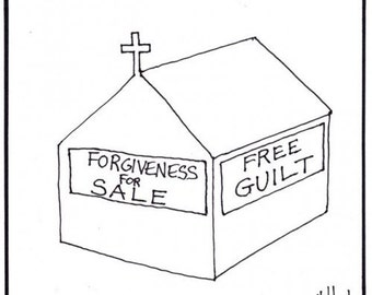 guilt and forgiveness CARTOON