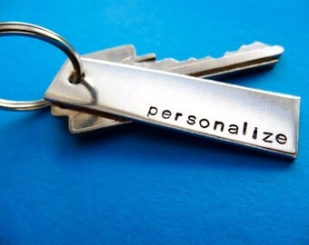 Personalized Keychain - Personalized Accessory - Custom Accessory